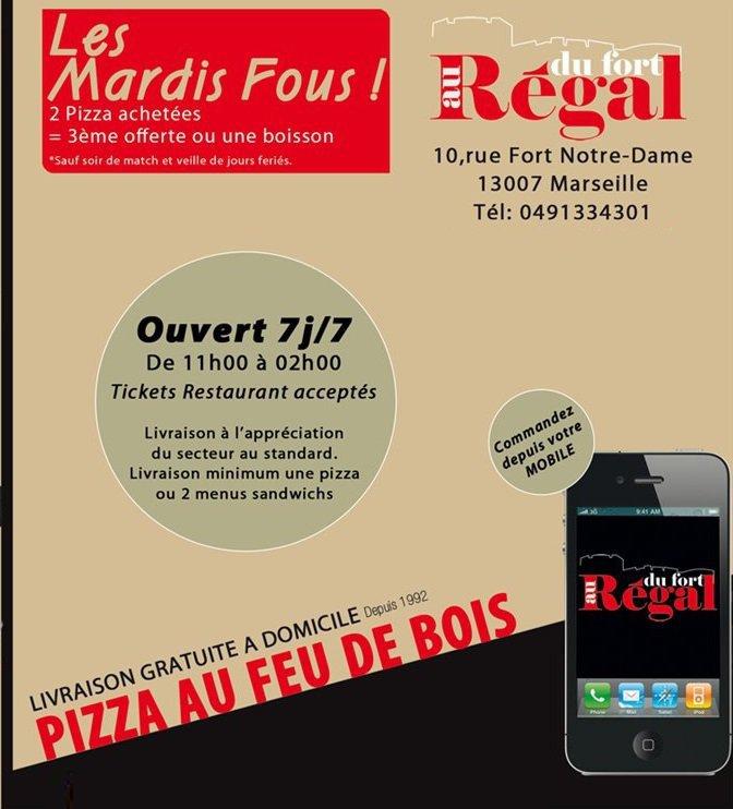 Au r gal du fort marseille 7 carte menu et photos - Restaurant la table du fort marseille ...