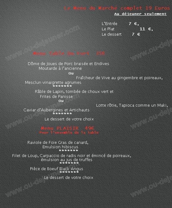La table du fort marseille 7 carte menu et photos - Restaurant la table du fort marseille ...