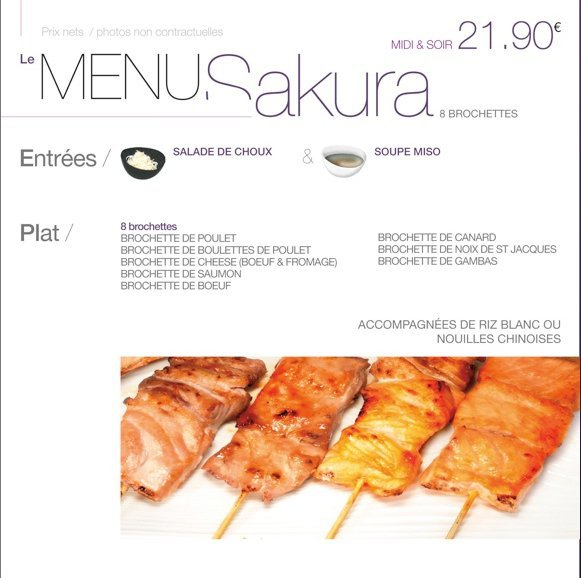 Naka bonneveine marseille 8 carte menu et photos for Jardin madison menu