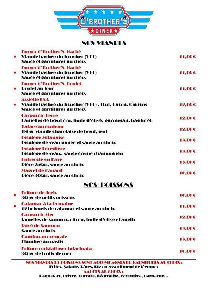 Restaurant La Broche Fos Sur Mer Menu