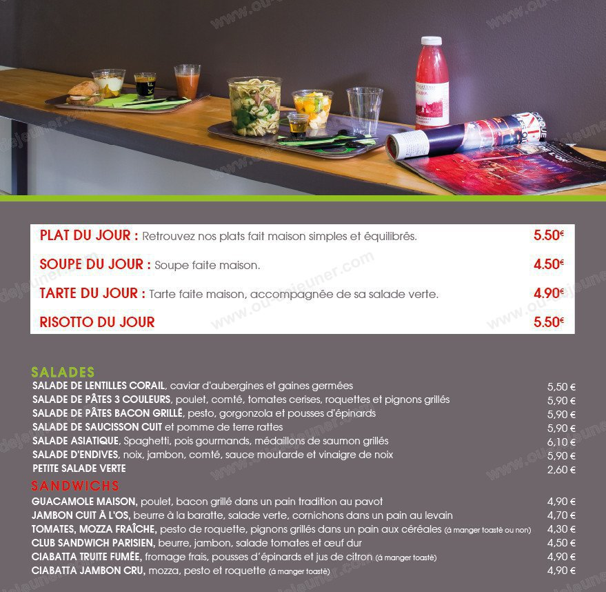 fresh food salon de provence carte menu et photos