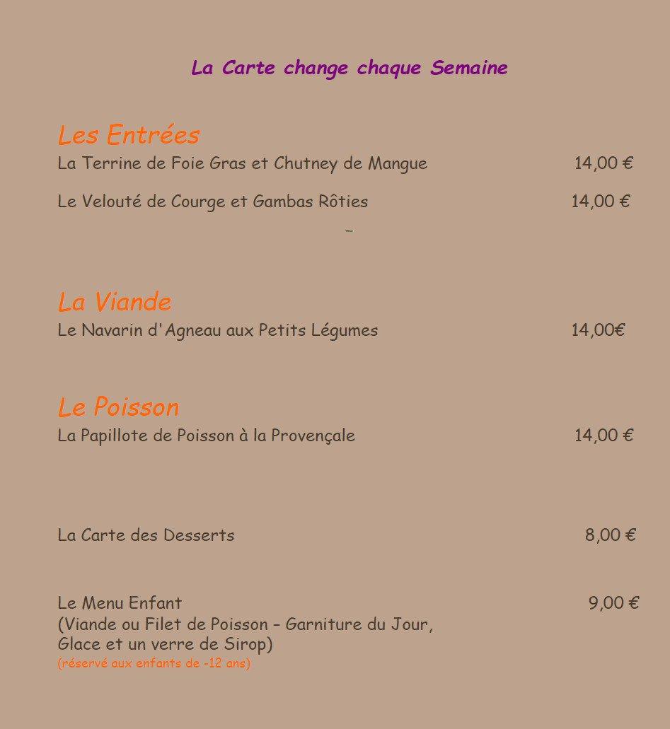 Les 3 poivrons salon de provence carte menu et photos for Restaurant poisson salon de provence