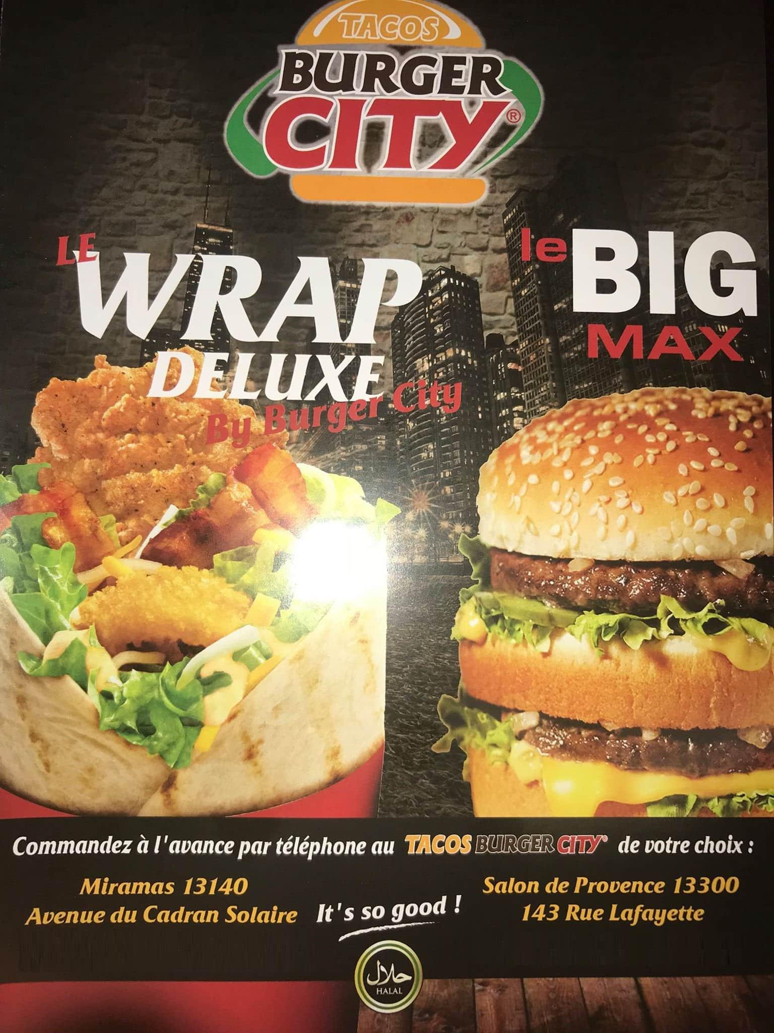 Tacos burger city salon de provence carte menu et photos for Mike pizza salon de provence