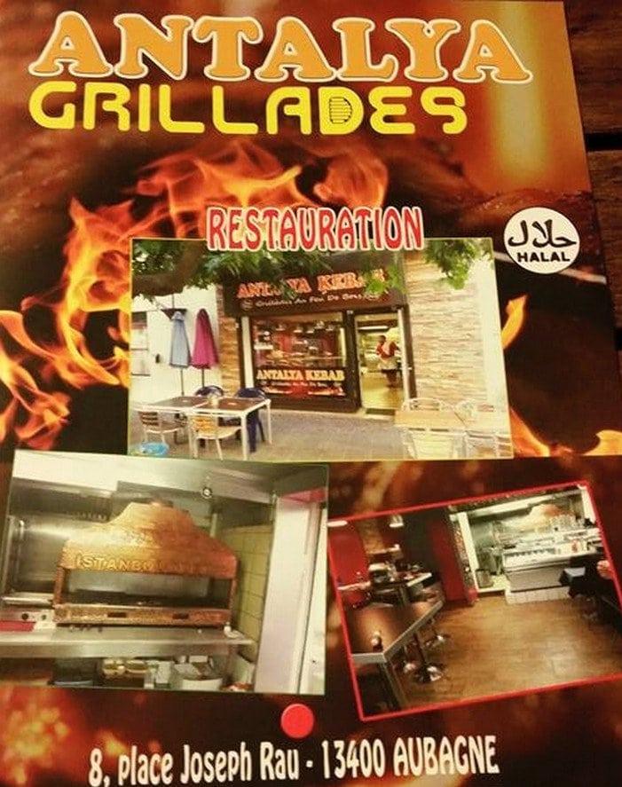 antalya kebab aubagne carte menu et photos. Black Bedroom Furniture Sets. Home Design Ideas