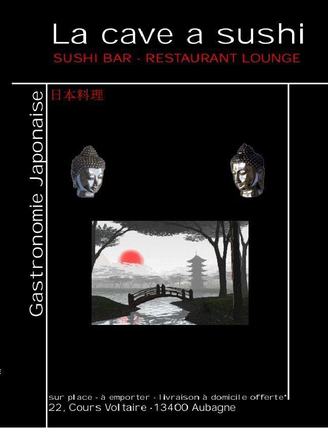 la cave a sushi aubagne carte menu et photos. Black Bedroom Furniture Sets. Home Design Ideas