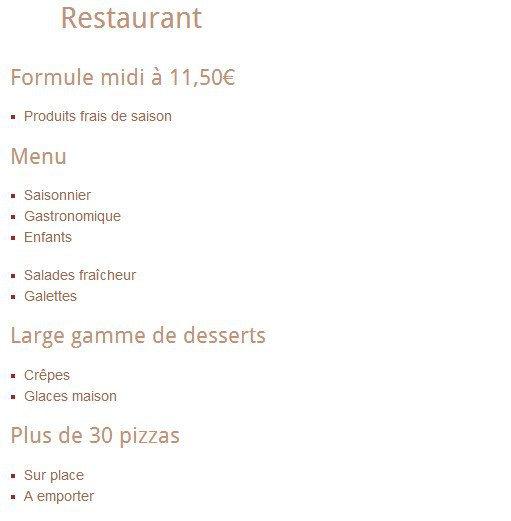 Chateau Barbezieux Restaurant