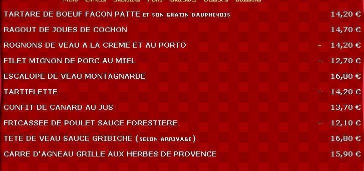 Les Pieds Sous La Table A La Rochelle Carte Menu Et Photos