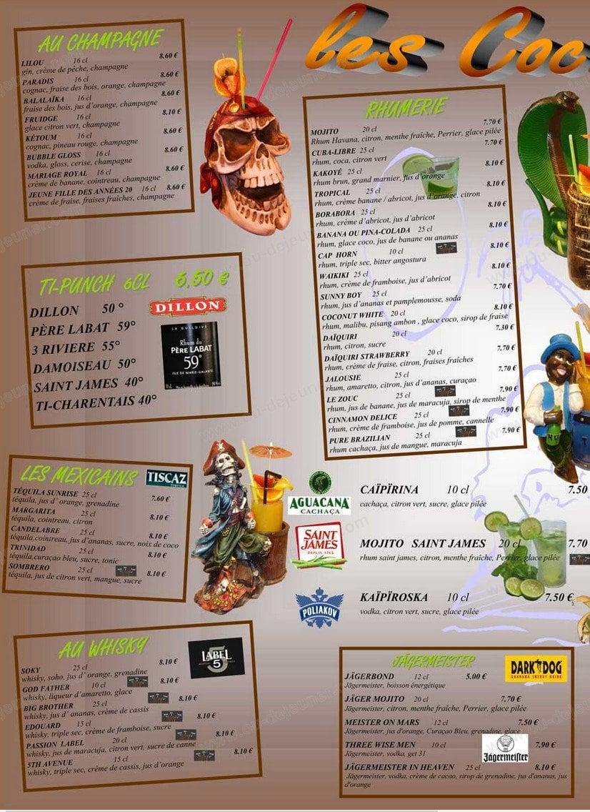 Le tropic saint georges de didonne carte menu et photos - Buffalo grill saint georges de didonne ...