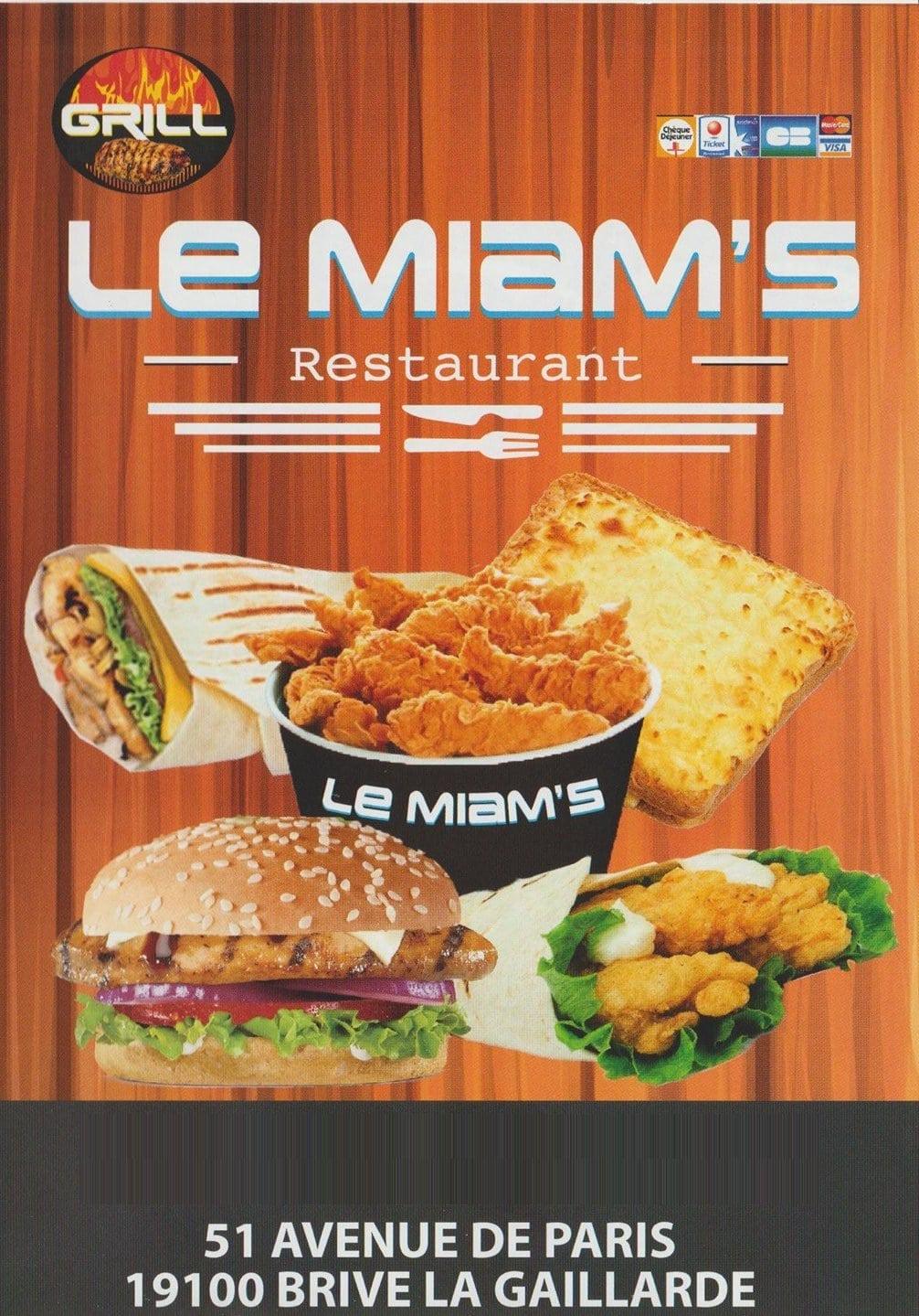 Le Miam S 224 Brive La Gaillarde Carte Menu Et Photos