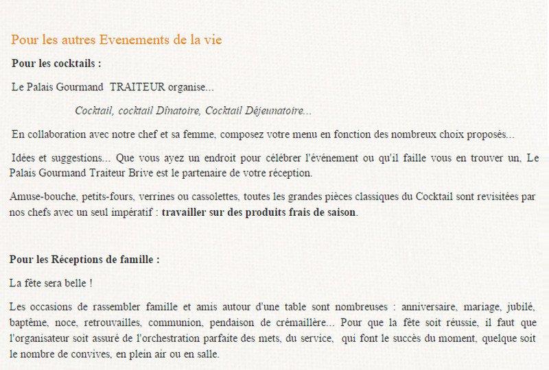 Relativ Le passiflore à Brive La Gaillarde, carte-menu et photos PY54
