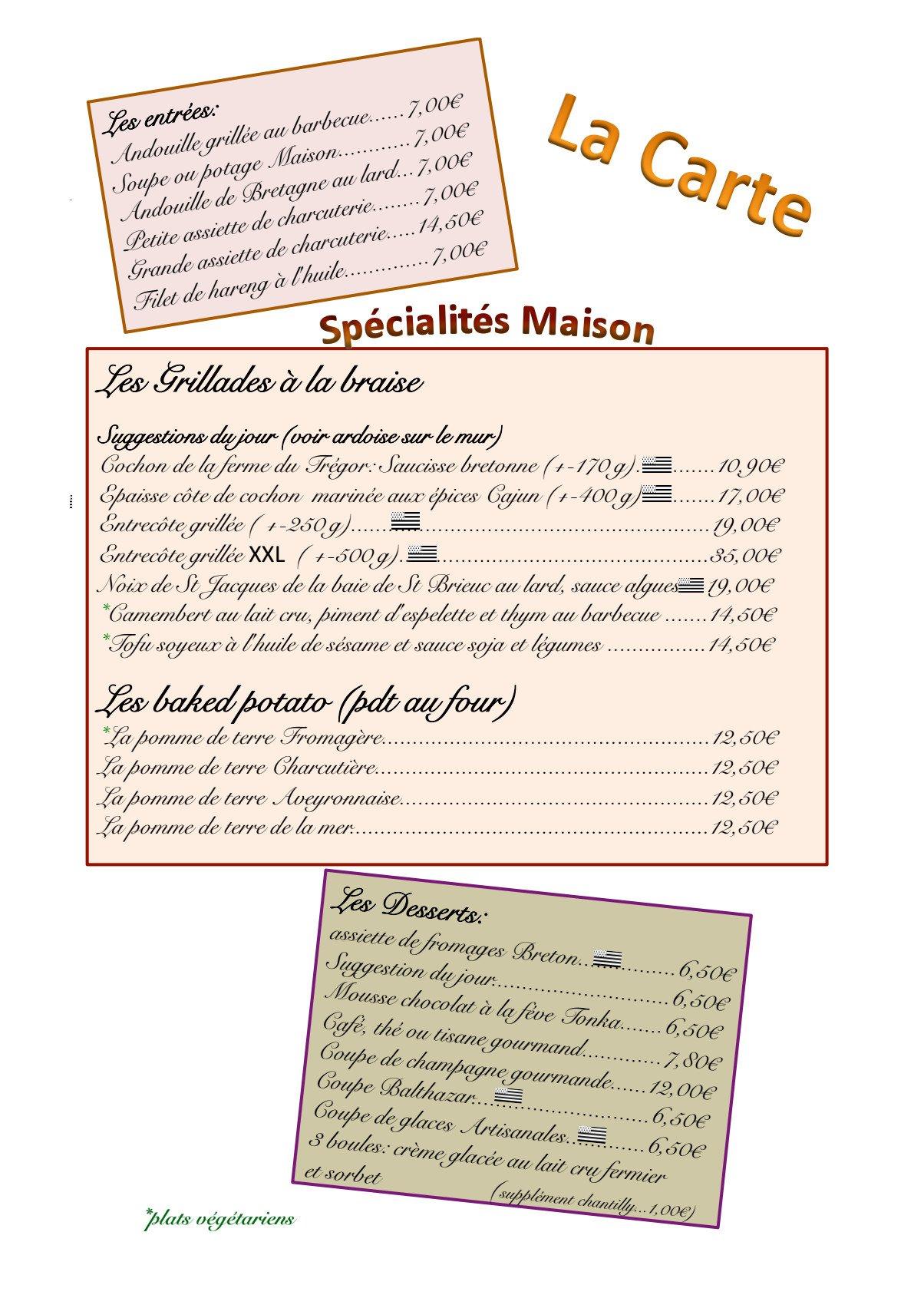 Carte Au Tresor Paimpol.Le Balthazar A Paimpol Carte Menu Et Photos
