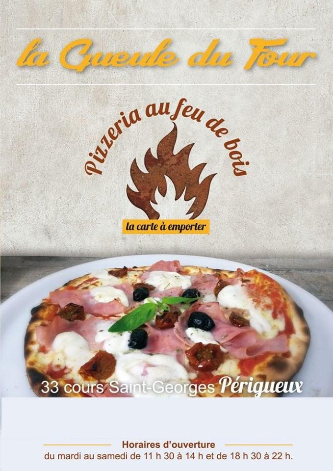 carte et menu la gueule du four prigueux - Cours De Cuisine Perigueux