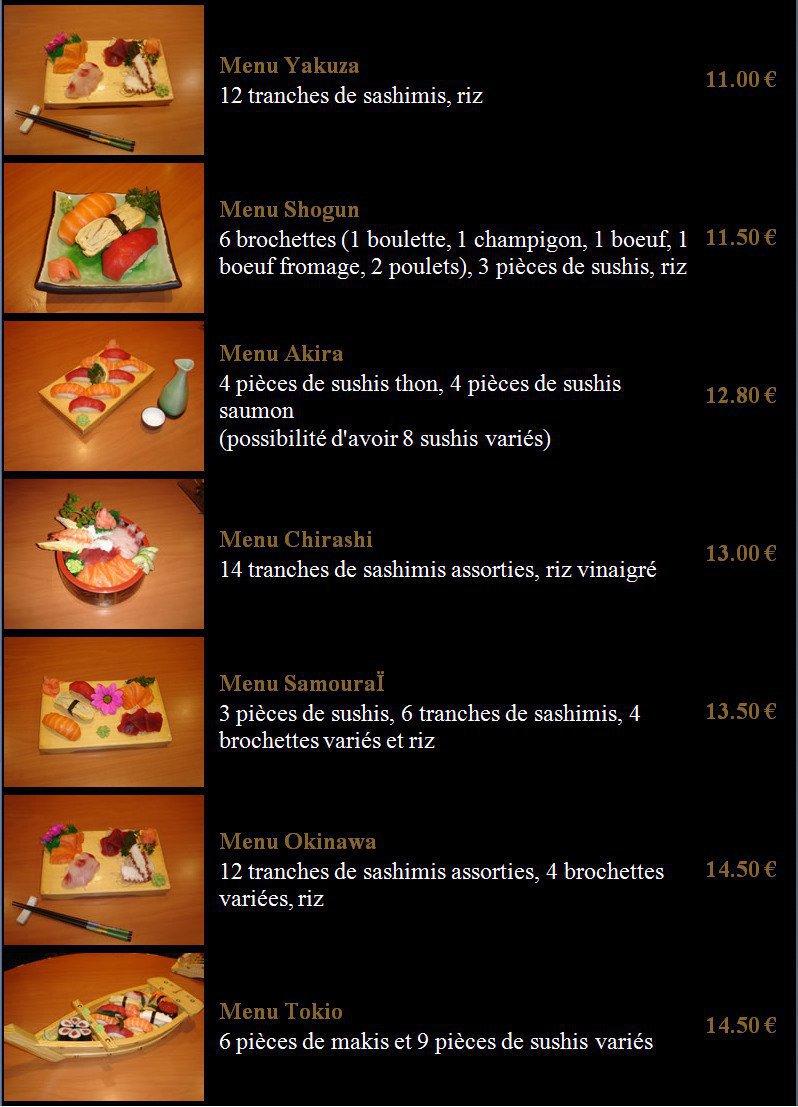 shogun sushi chartres carte menu et photos. Black Bedroom Furniture Sets. Home Design Ideas