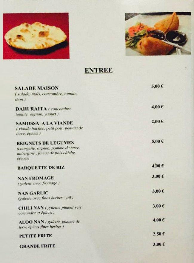 Restaurant Indien Rajasthan Brest