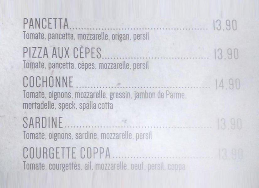 Pizza Peppone Bordeaux Carte.Peppone A Bordeaux Carte Menu Et Photos