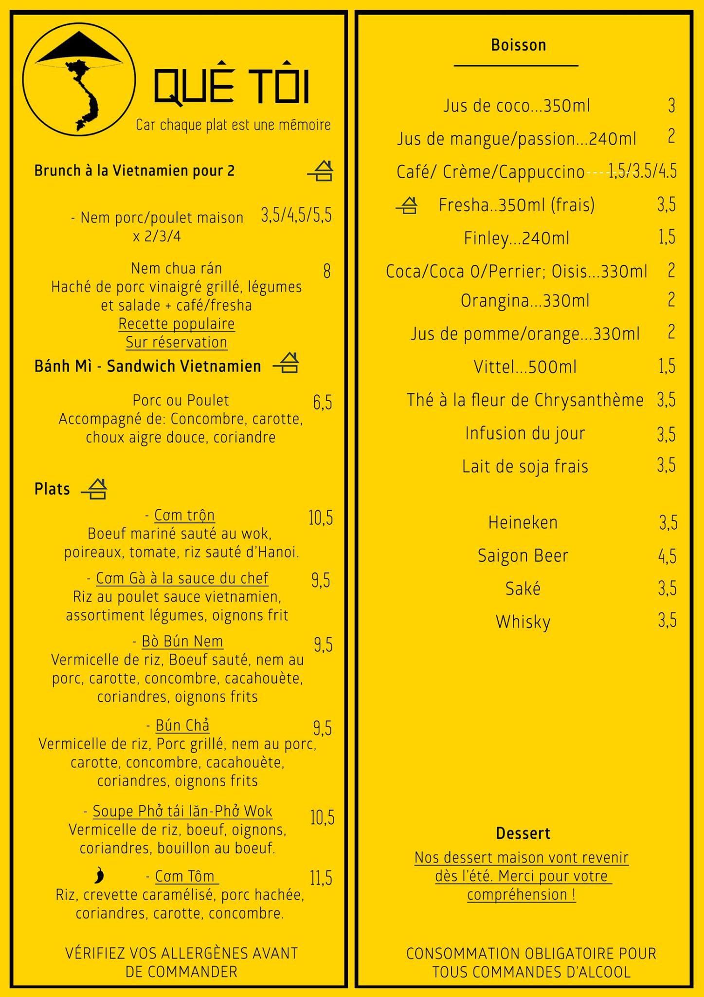 Carte Restaurant Bordeaux.Que Toi A Bordeaux Carte Menu Et Photos