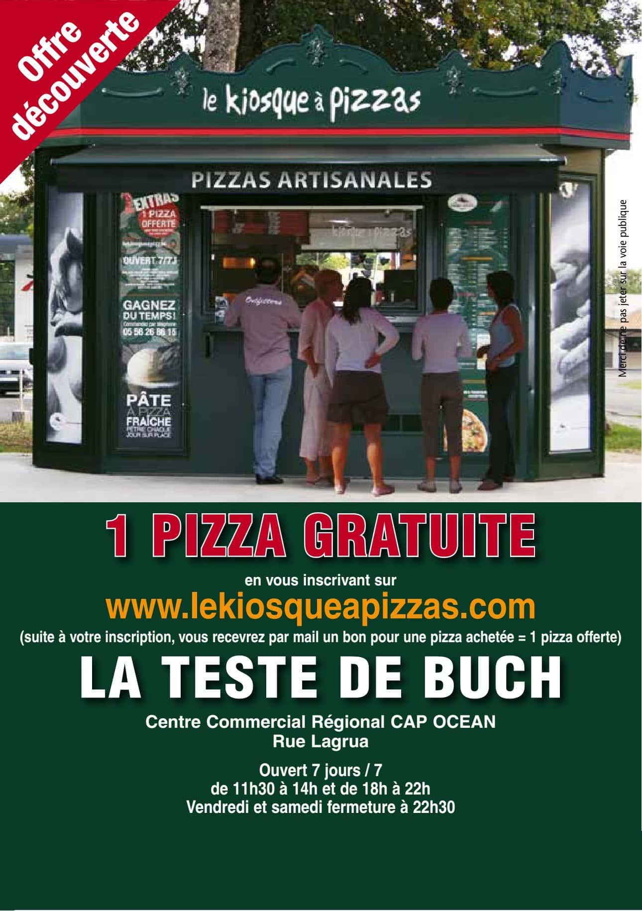Carte Kiosque A Pizza.Le Kiosque A Pizzas A La Teste De Buch Carte Menu Et Photos