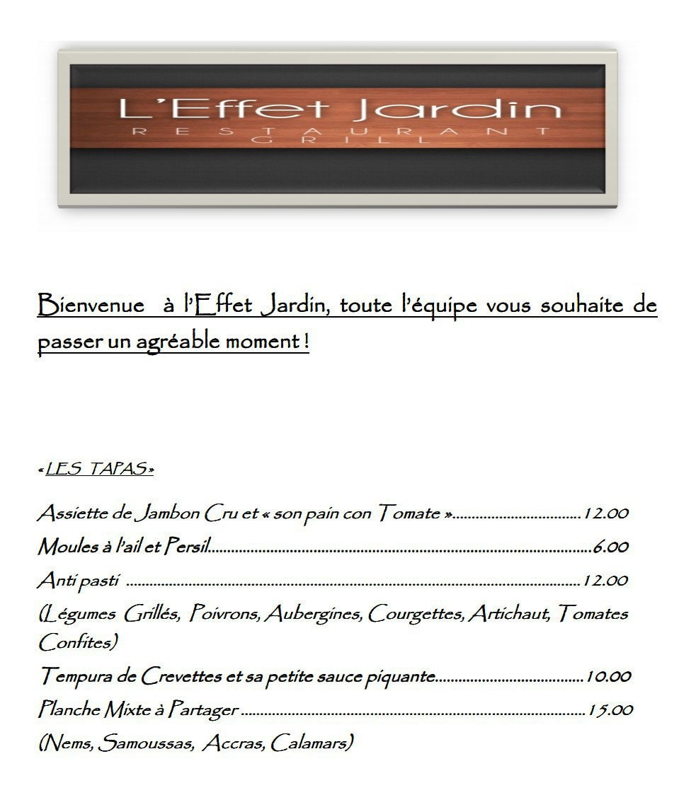 Wonderful Les Tapas