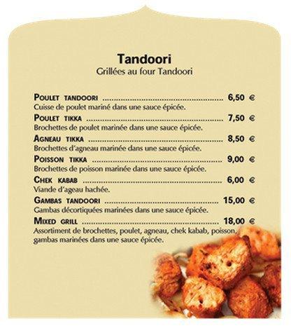 Carte Indien Restaurant.Restaurant Prince Indien A Grenoble Carte Et Menu En Ligne