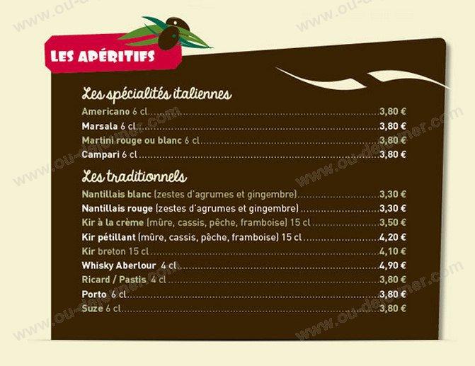 San Remo Restaurant Carte