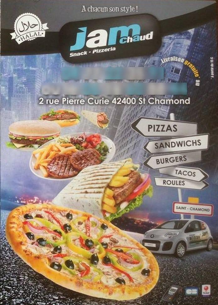Jam chaud saint chamond carte menu et photos - Saint chamond 42400 ...