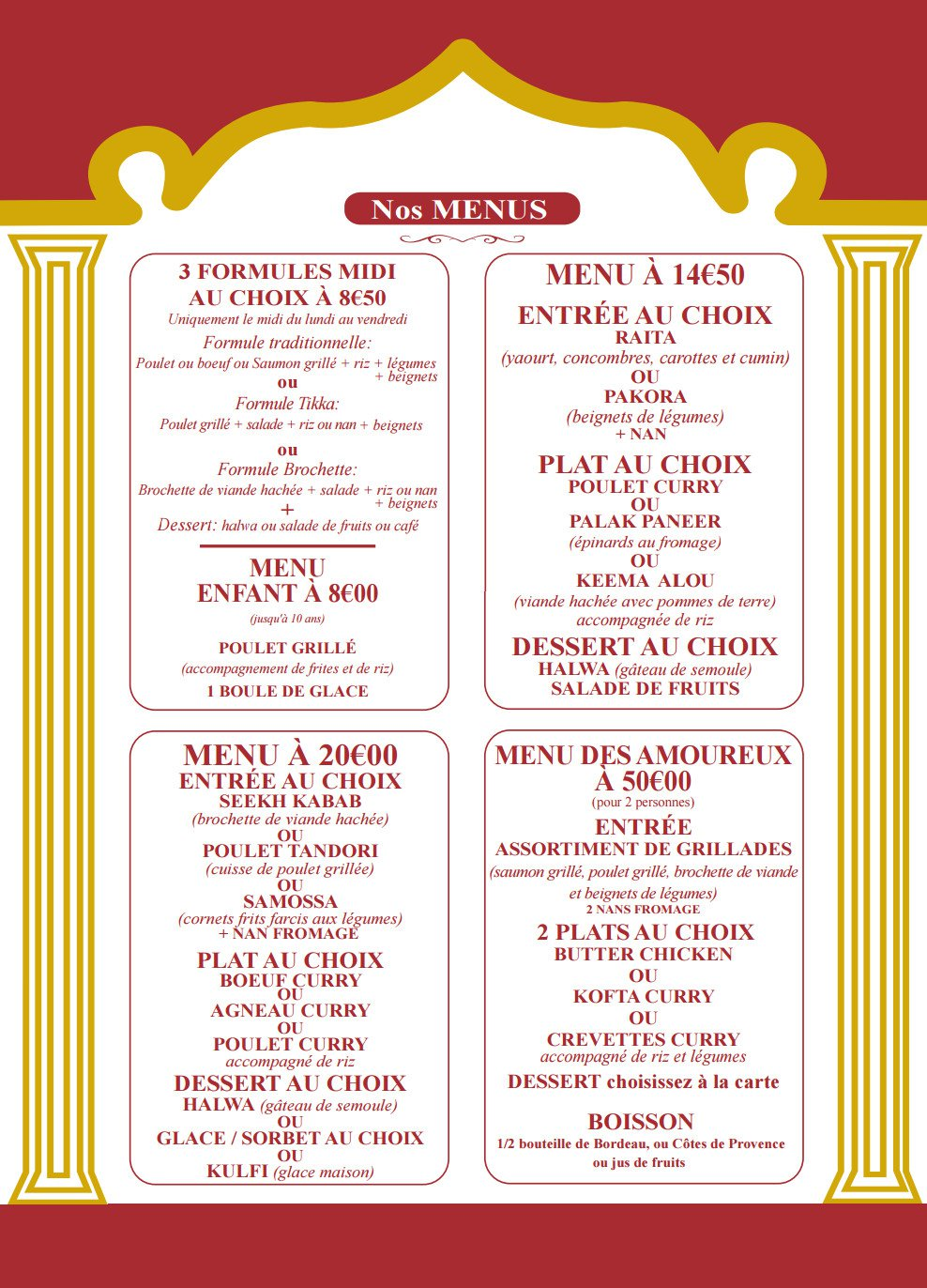 Indien Restaurant Nantes