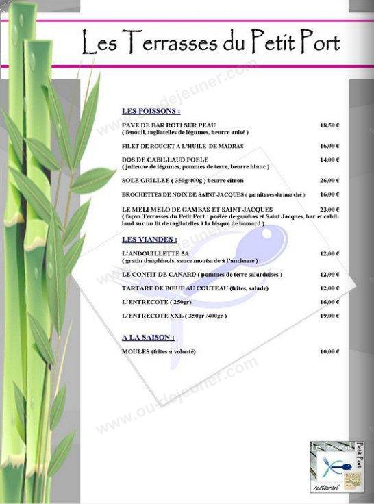 Les terrasses du petit port nantes carte menu et photos for Piscine du petit port nantes