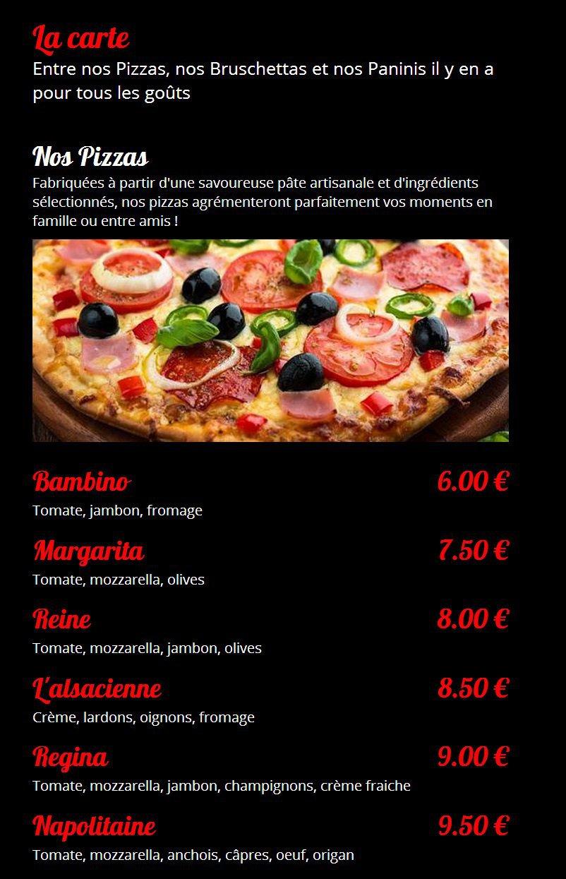 pizza rinacci nort sur erdre