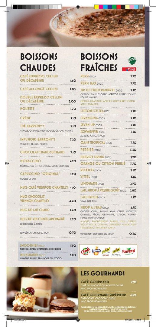 L 39 univers orleans carte menu et photos - Brasserie lutetia menu ...