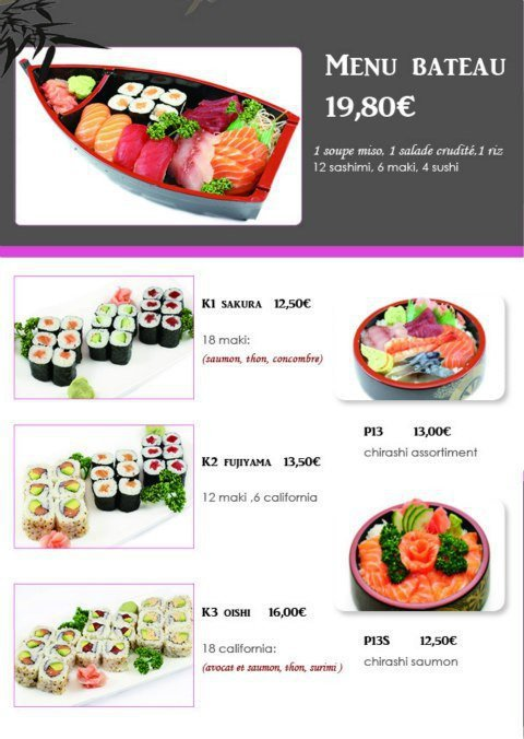 jasmin sushi box agen carte menu et photos. Black Bedroom Furniture Sets. Home Design Ideas