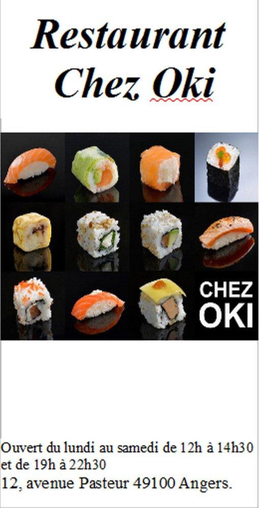 Chez oki angers carte menu et photos - Class croute angers ...