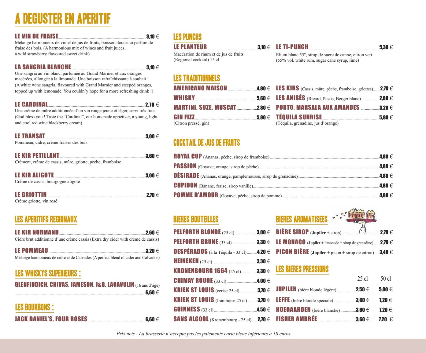 Aoc Restaurant Menu