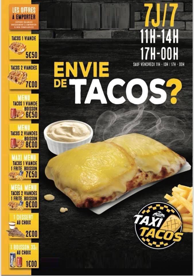 taxi tacos vandoeuvre les nancy carte menu et photos. Black Bedroom Furniture Sets. Home Design Ideas