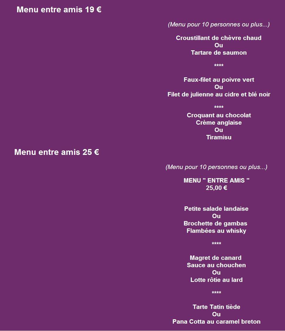 La villa valencia vannes carte menu et photos for Menus entre amis rapide