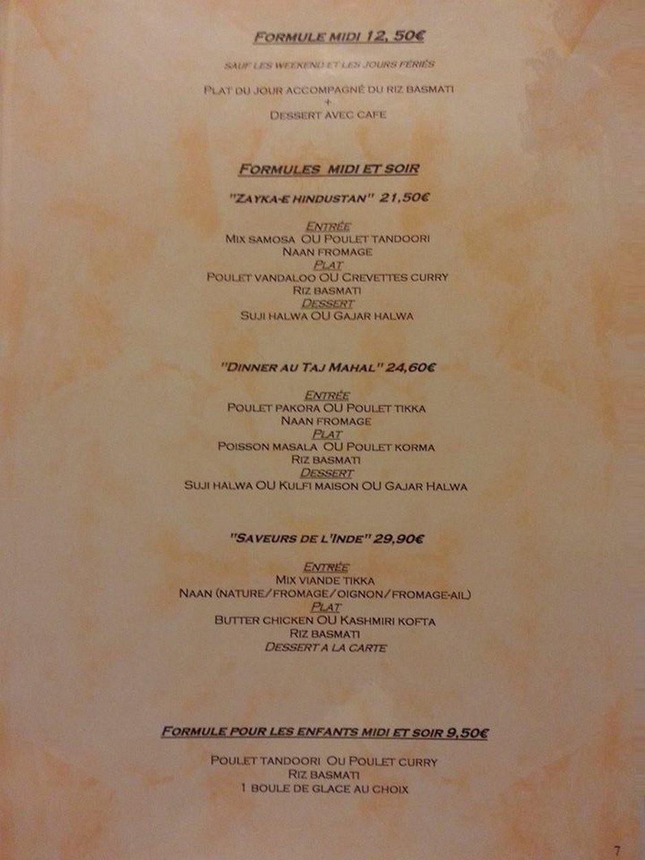 L Indien Restaurant Vannes
