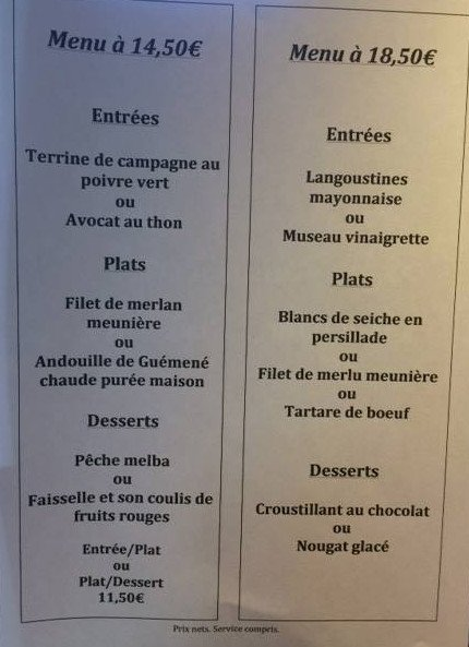 Restaurant Rue Duguay Trouin  Ef Bf Bd Lorient