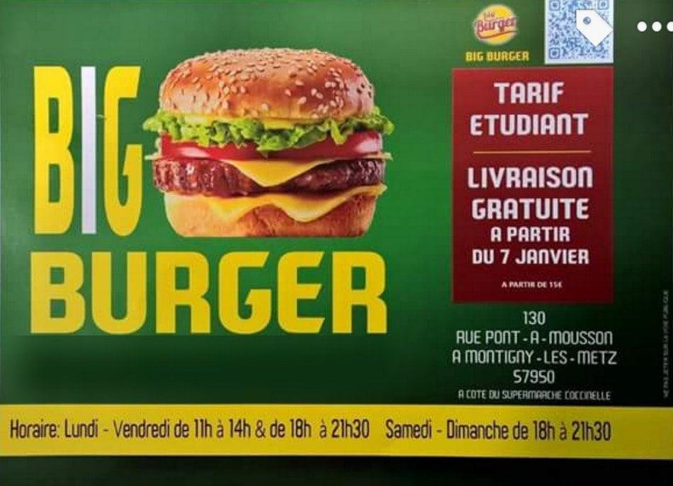 carte etudiant burger king