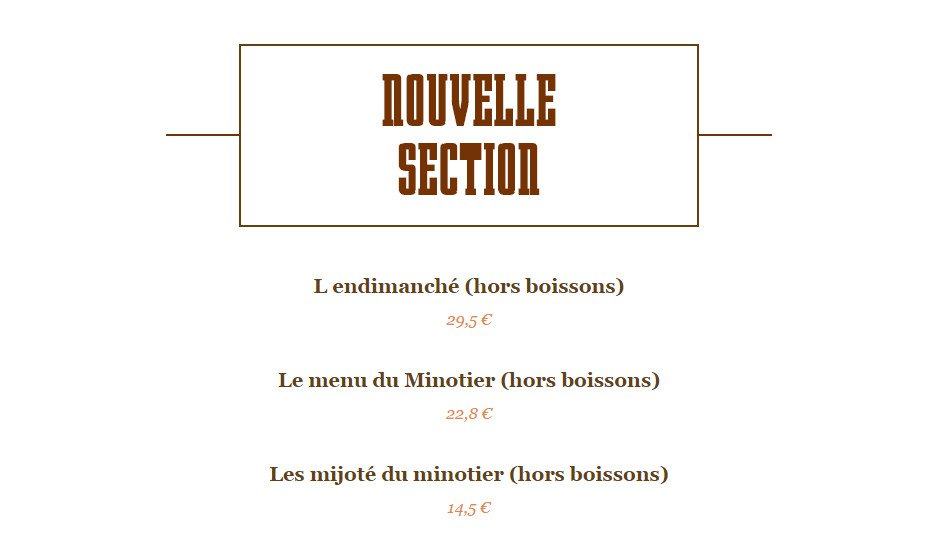 la table du minotier terdeghem carte menu et photos