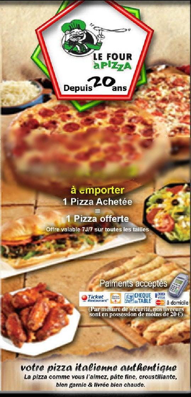 le four pizza valenciennes carte et menu en ligne. Black Bedroom Furniture Sets. Home Design Ideas