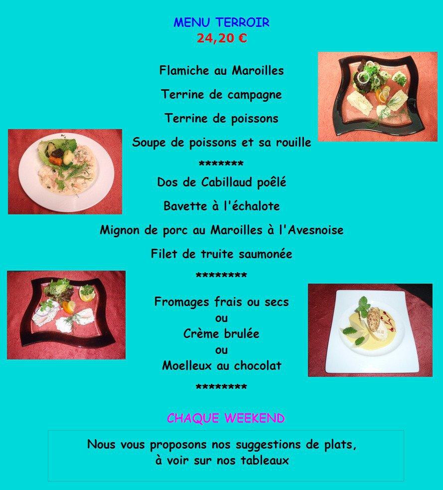 La chaloupe avesnes sur helpe carte menu et photos - Arte la cuisine des terroirs ...