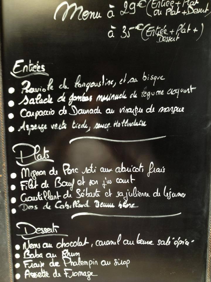 La Salle A Manger A Marcq En Baroeul Carte Menu Et Photos