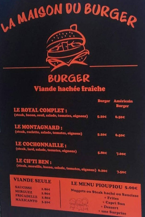 La Maison Du Burger Steadlane Club
