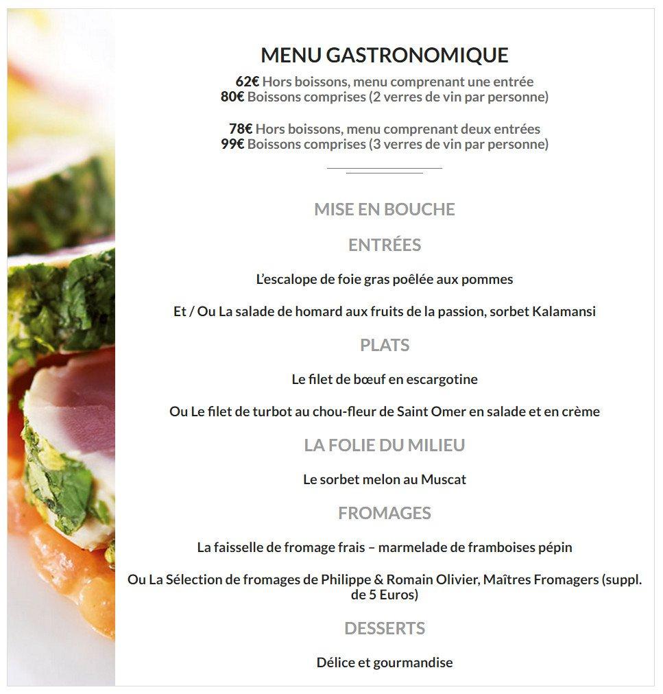 Restaurant Aire Sur La Lys Gastronomique