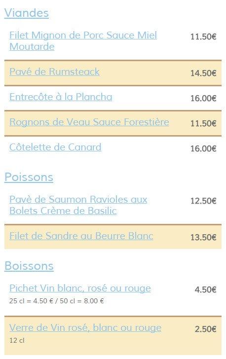 Restaurant La Table Houlloise A Houlle