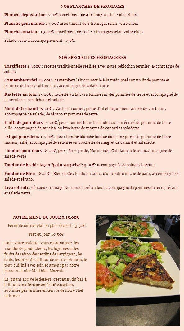 Restaurant Le Bar A Lait A Perpignan