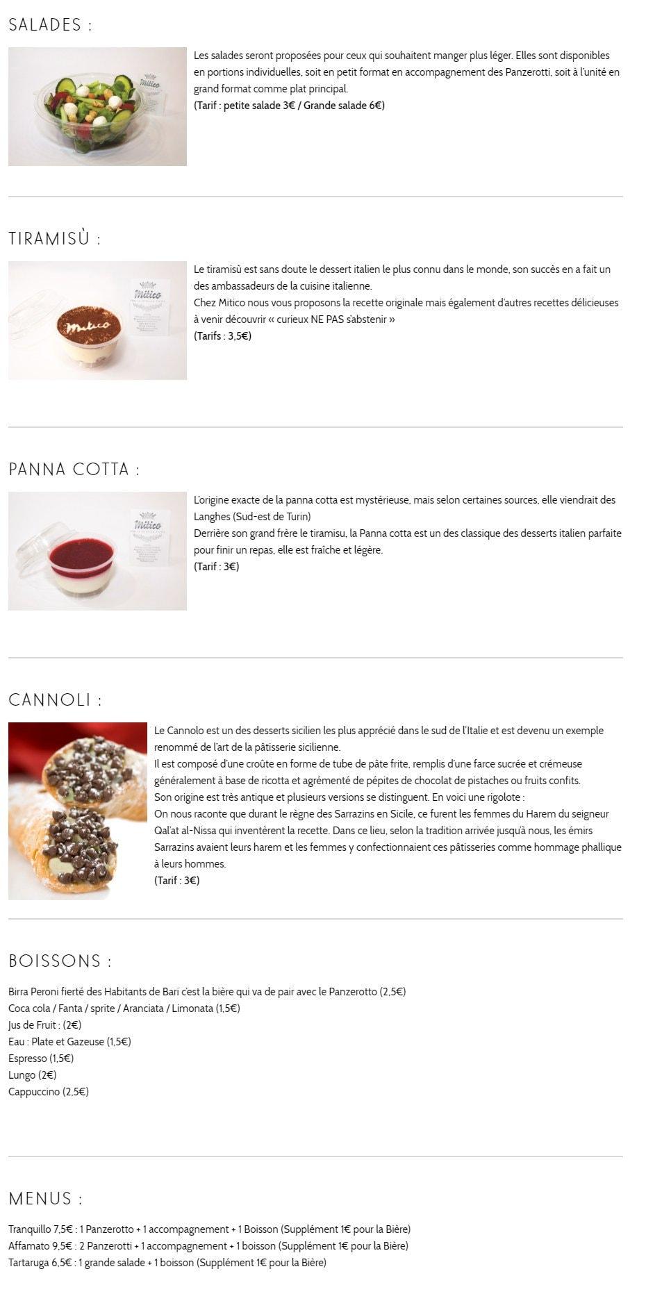 mitico strasbourg carte menu et photos. Black Bedroom Furniture Sets. Home Design Ideas