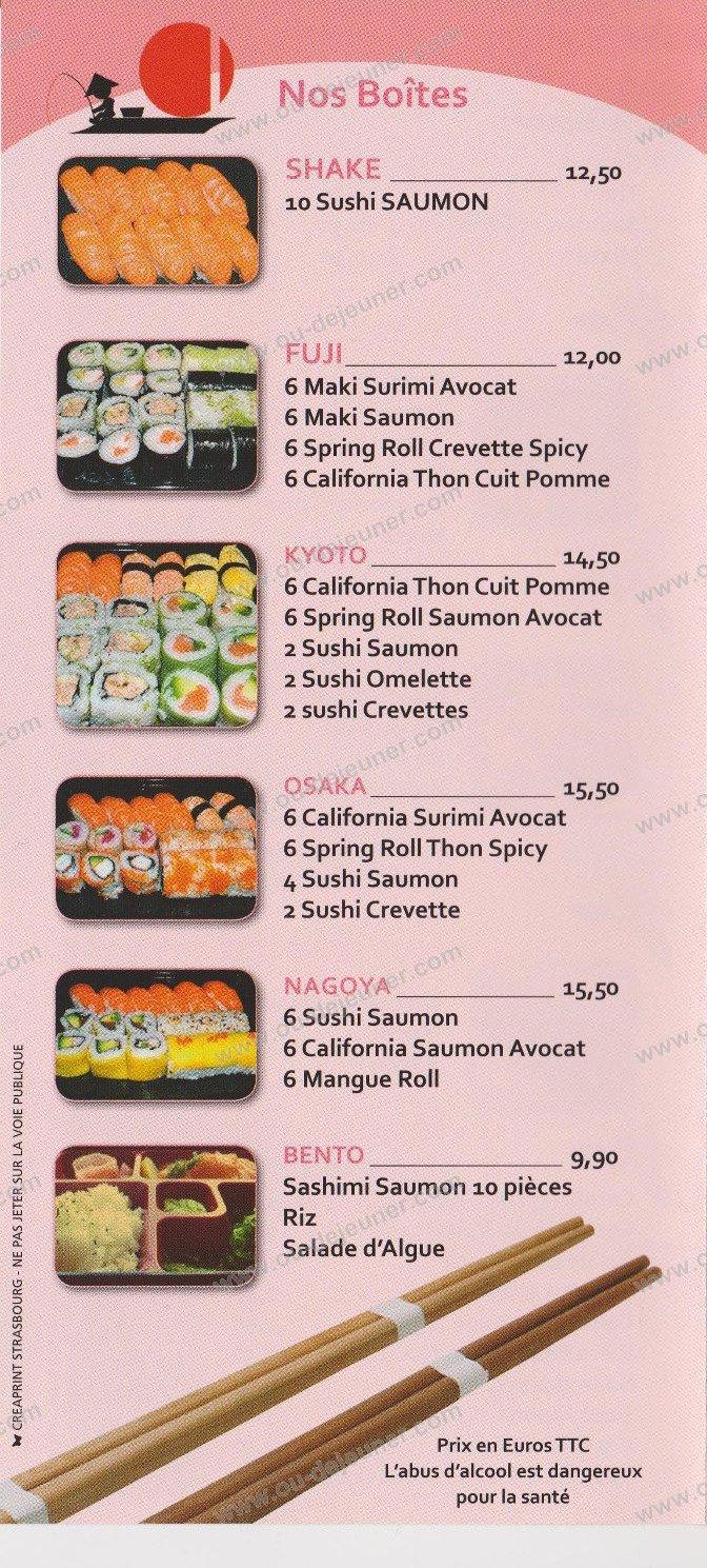 oishii sushi strasbourg carte menu et photos. Black Bedroom Furniture Sets. Home Design Ideas