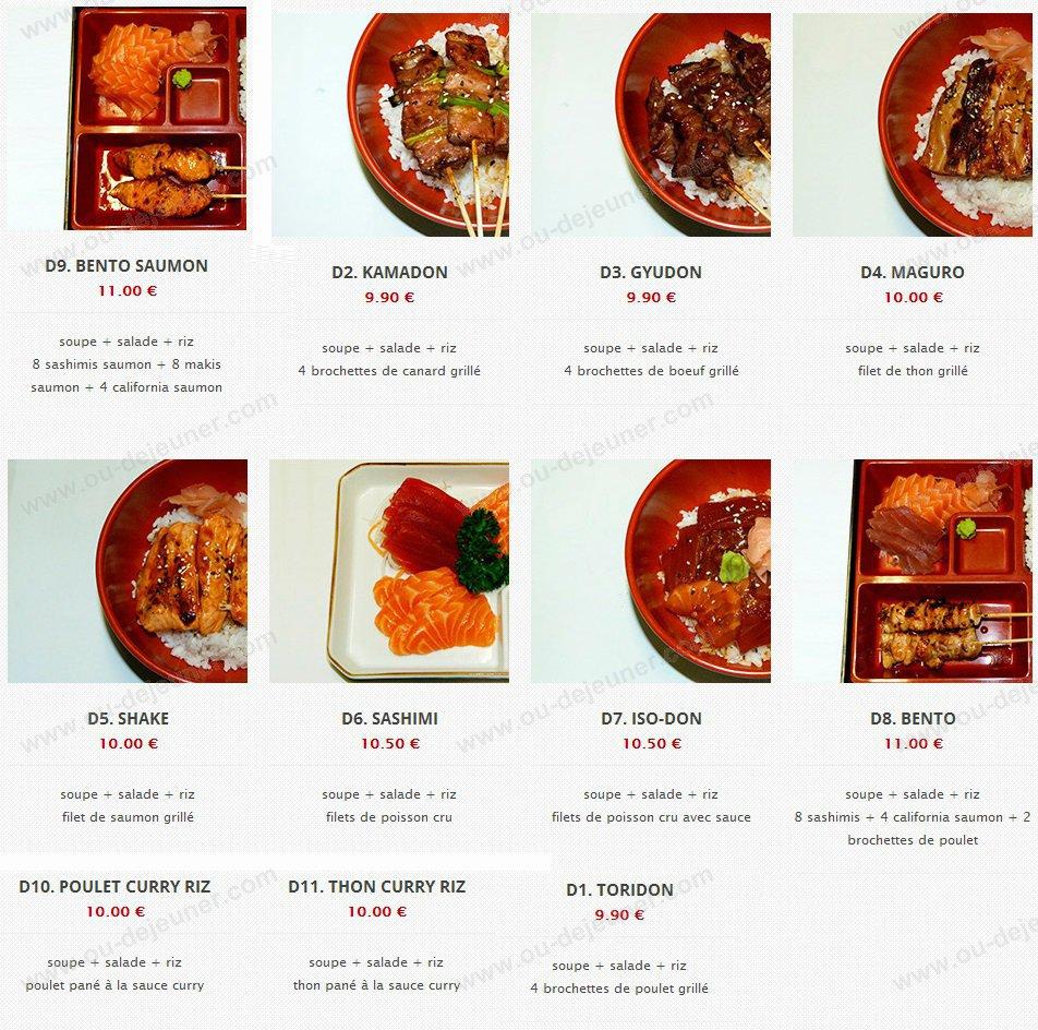 sushi ii strasbourg carte menu et photos. Black Bedroom Furniture Sets. Home Design Ideas