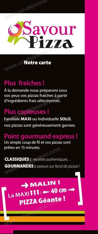 Le Fuchsia Restaurant Menu