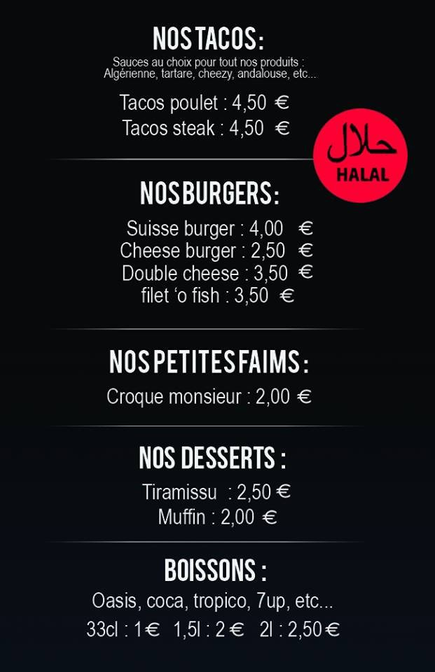 fast night burger mulhouse carte et menu en ligne. Black Bedroom Furniture Sets. Home Design Ideas